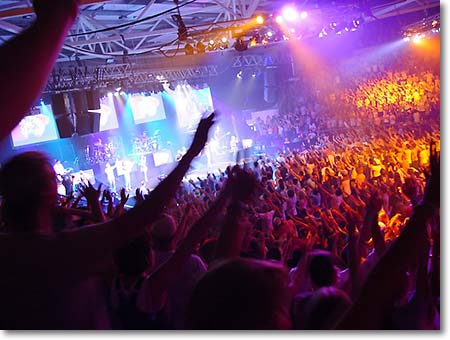 megachurch experience is like a drug